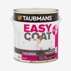 Taubmans Easycoat Ceiling Pink to White